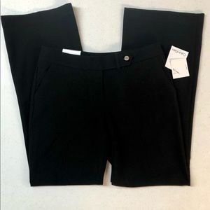 CALVIN KLEIN SZ 6 CLASSIC FIT LINED CAREER PANTS